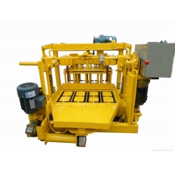 Hydraulic mobile model block machine,technology from Germany