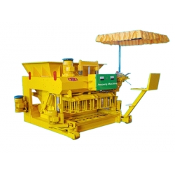 high production mobile hollow block machine