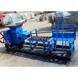 eletric and diesel clay brick machine