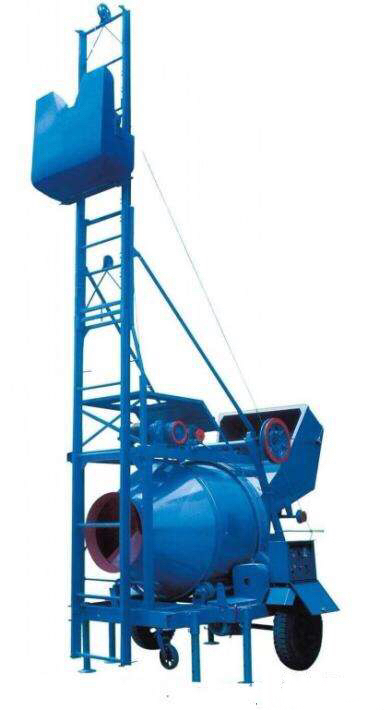 concrete mixer with lift 18meters height