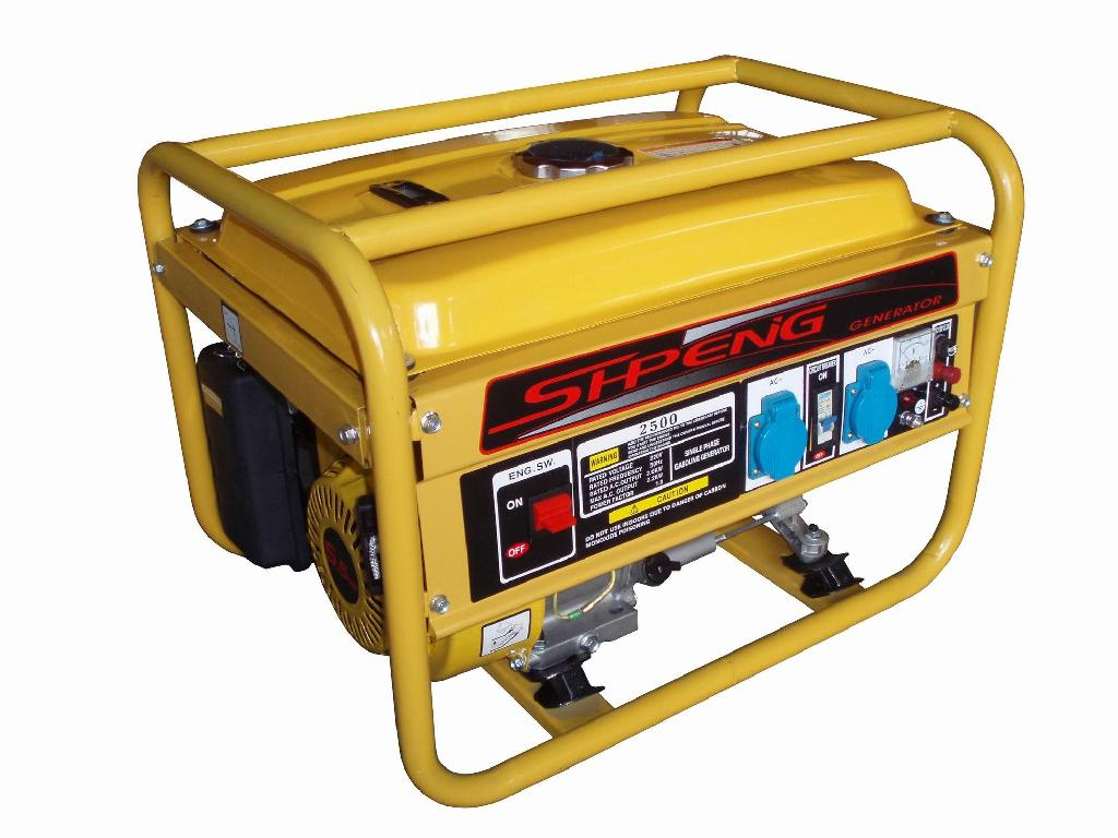 gas and diesel generator in different models