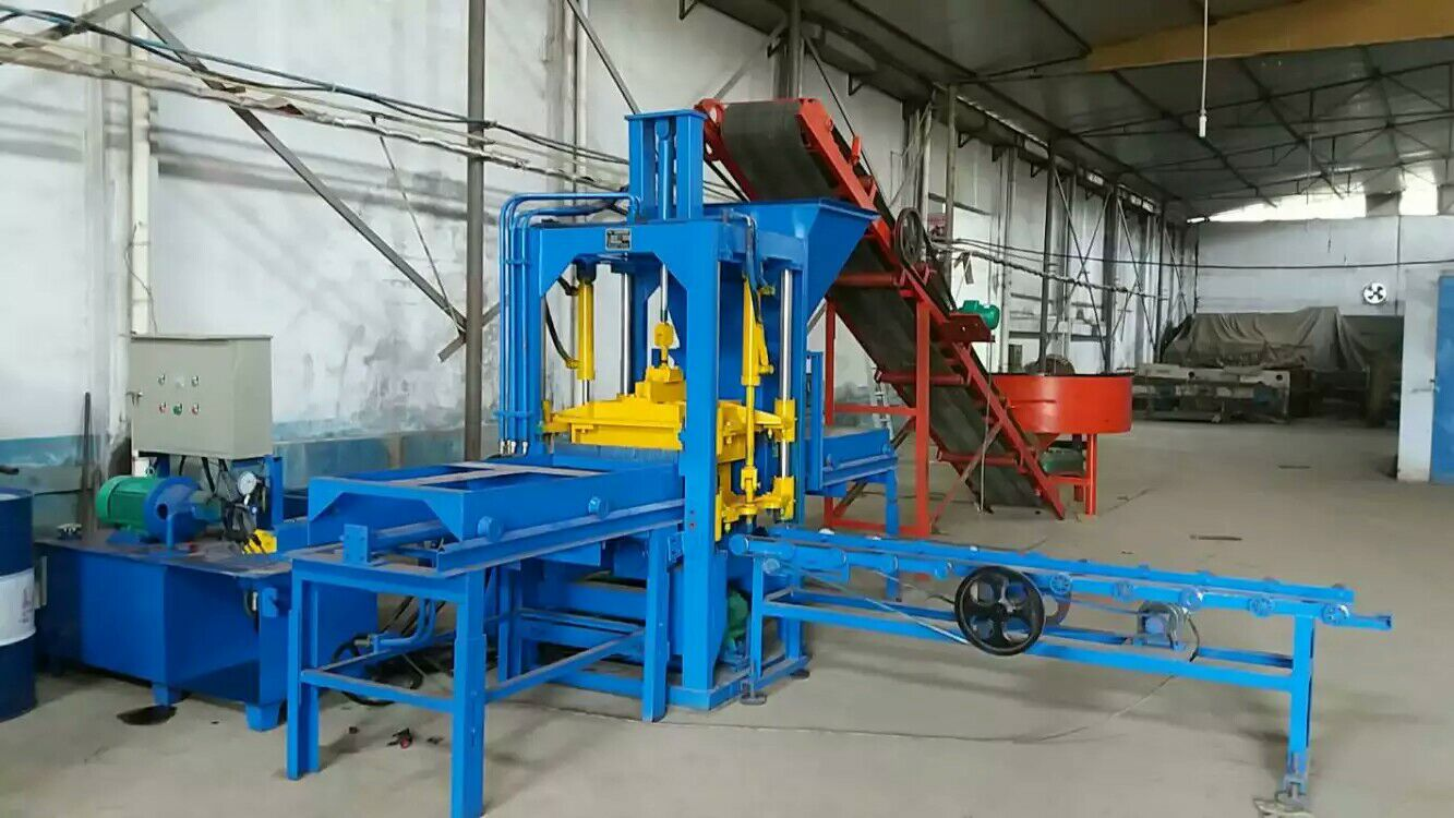 smaller automatic model hydraulic hollow block machine